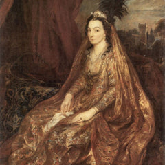 The Museum Outlet - Portrait of Elisabeth Theresa by Van Dyck