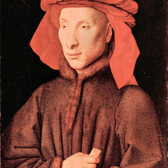 The Museum Outlet - Portrait of Giovanni Arnolfini by Jan Van Eyck
