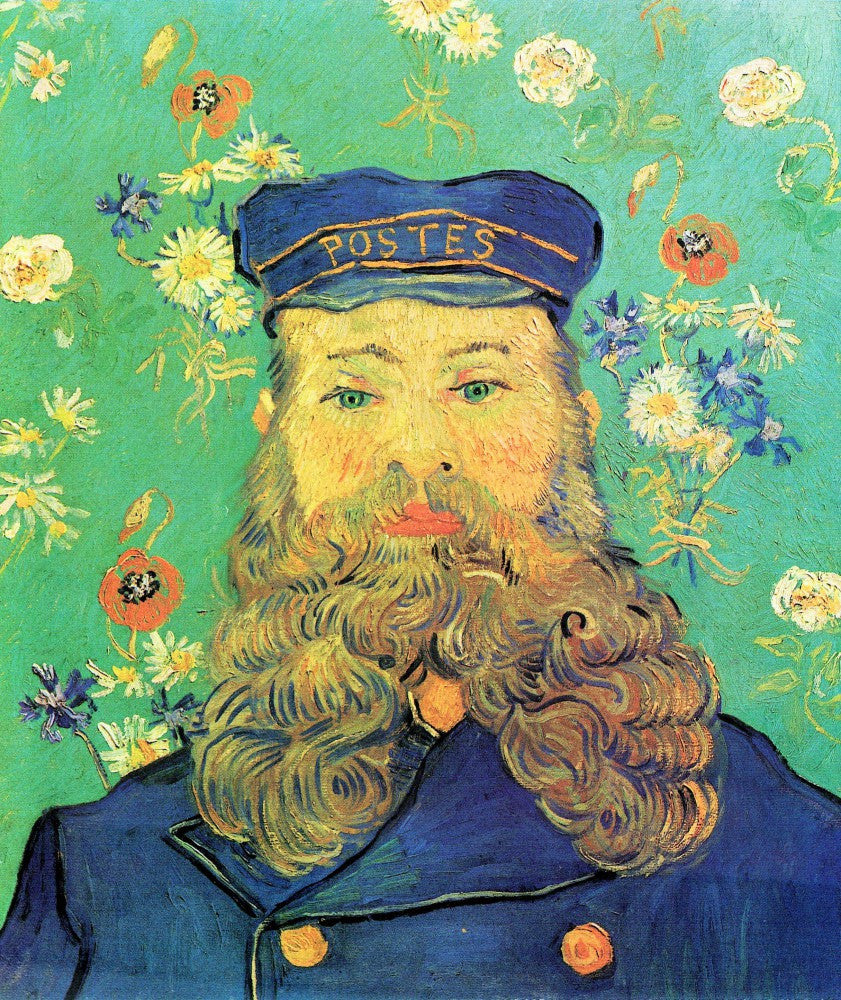 The Museum Outlet - Portrait of Joseph Roulin by Van Gogh