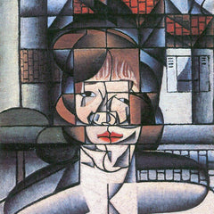 The Museum Outlet - Portrait of Madame Germaine Raynal [1] by Juan Gris
