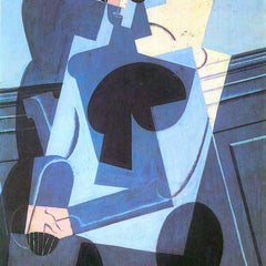 The Museum Outlet - Portrait of Madame Josette Gris by Juan Gris