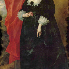 The Museum Outlet - Portrait of Margaret von Lothringen by Van Dyck