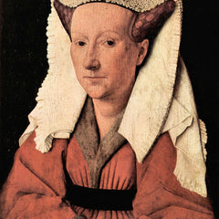The Museum Outlet - Portrait of Margaretha van Eyck by Jan Van Eyck