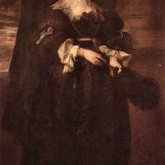 The Museum Outlet - Portrait of Marie de Raet by Van Dyck