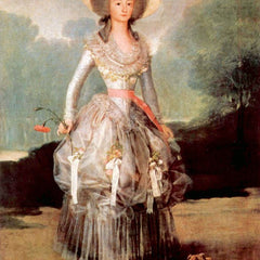 The Museum Outlet - Portrait of Marquesa de Pontejos y Sandoval, Herzogin von Pontejos by Goya