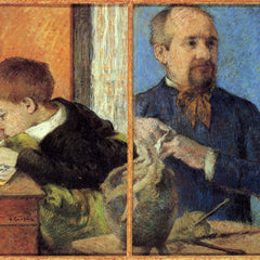 The Museum Outlet - Portrait of Sculptor with Son by Gauguin