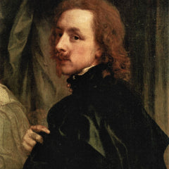 The Museum Outlet - Portrait of Sir Endimion Porter and self-portrait, detail by Van Dyck