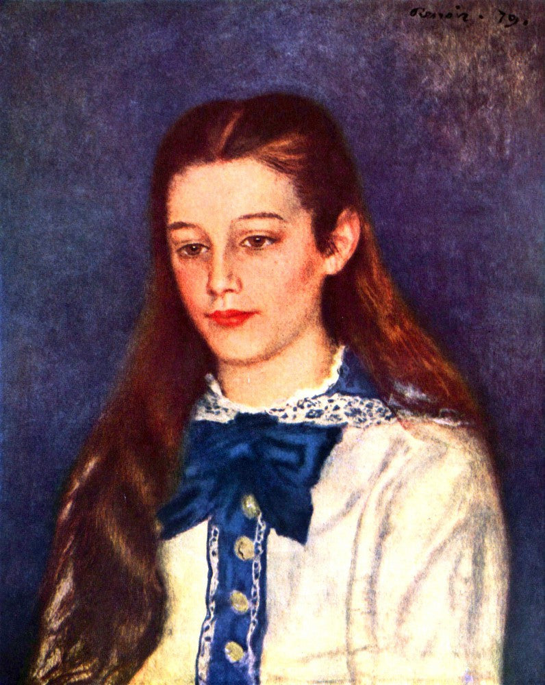The Museum Outlet - Portrait of Therese Berard by Renoir