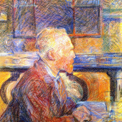 The Museum Outlet - Portrait of Van Gogh by Toulouse-Lautrec