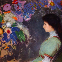 The Museum Outlet - Portrait of Violet Heymann by Odilon Redon