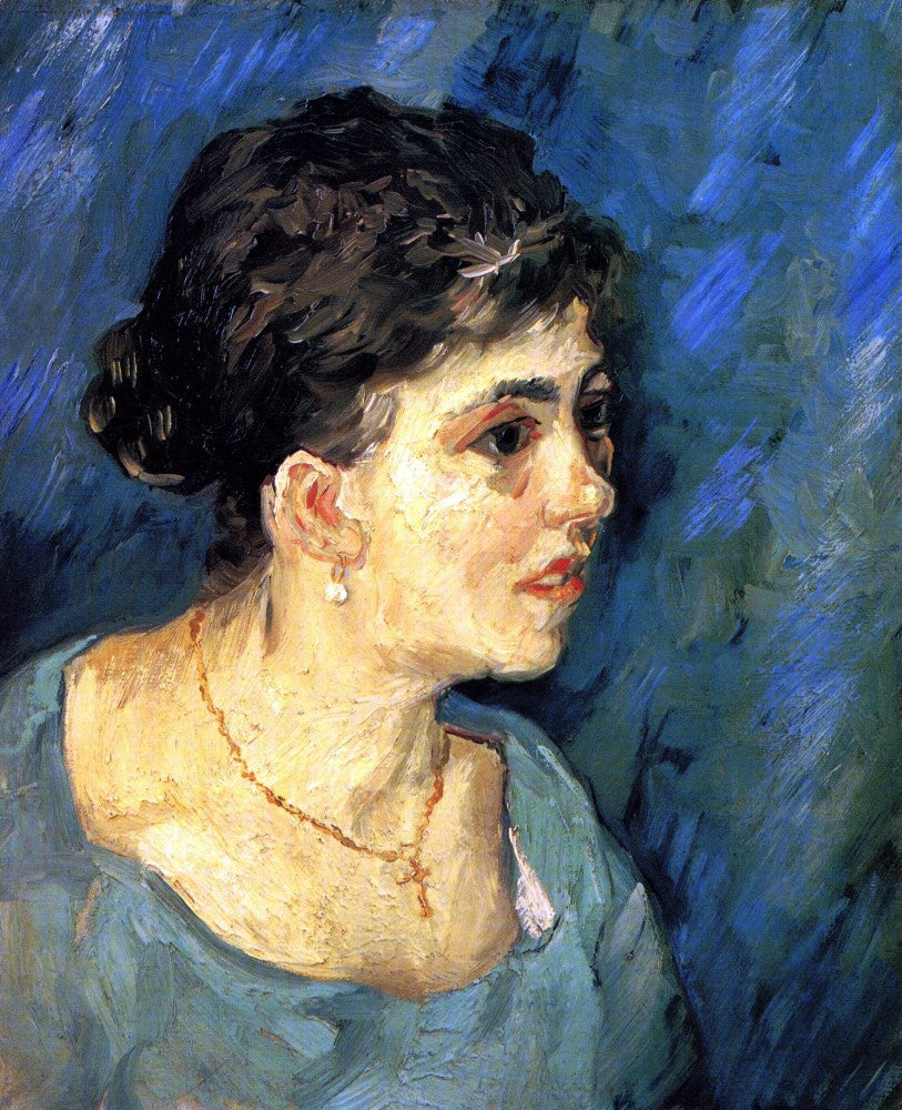 The Museum Outlet - Portrait of Woman in Blue