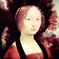The Museum Outlet - Portrait of a Dame (Ginevra Benci) by Da Vinci