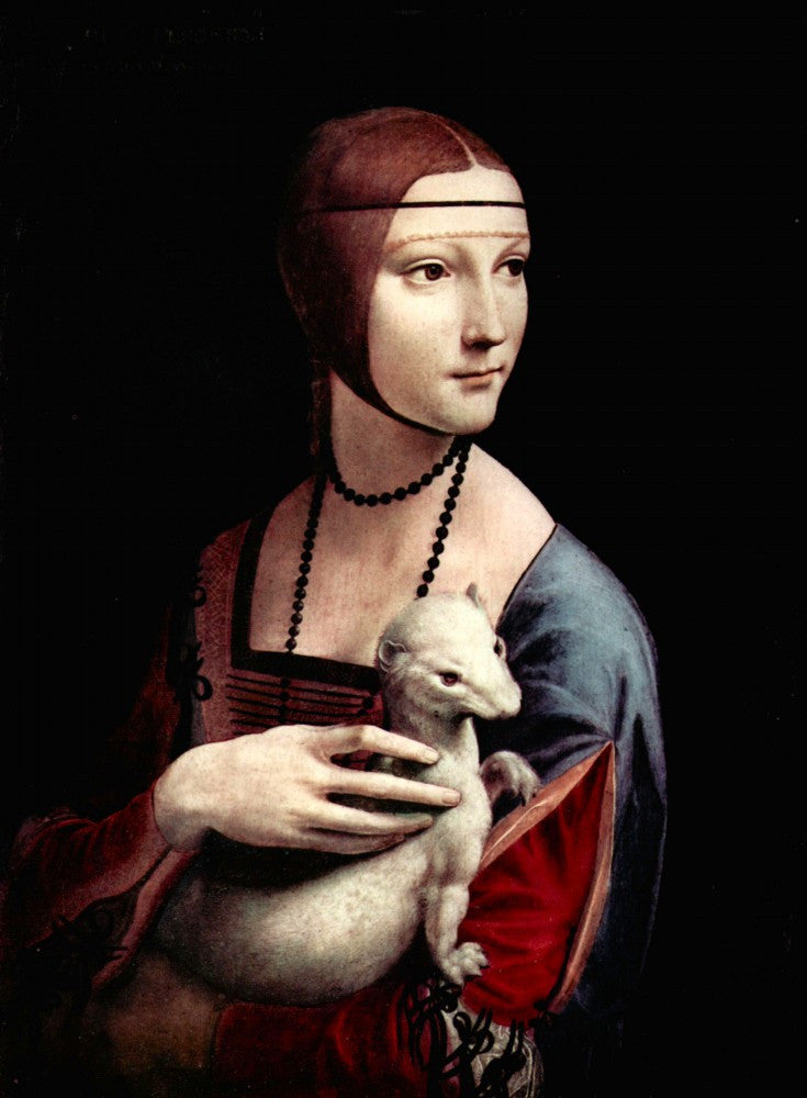 The Museum Outlet - Portrait of a Lady with Ermine by Da Vinci