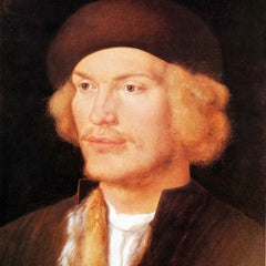 The Museum Outlet - Portrait of a young man 2 by Durer