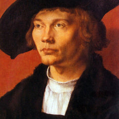 The Museum Outlet - Portrait of a young man 3 by Durer