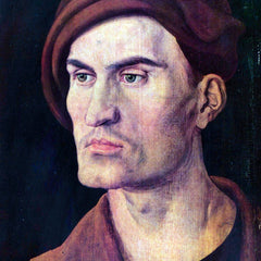 The Museum Outlet - Portrait of a young man by Durer