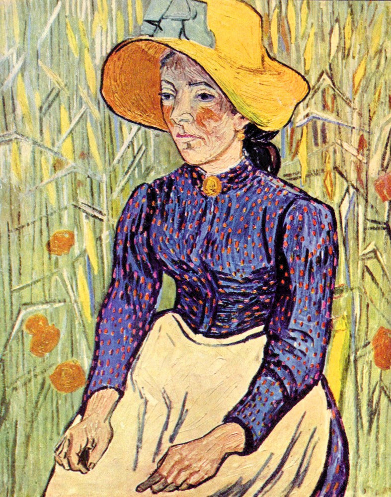 The Museum Outlet - Portrait of a young peasant girl by Van Gogh