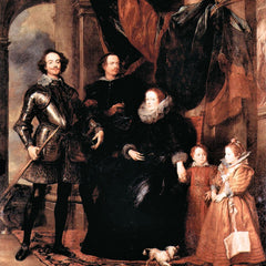 The Museum Outlet - Portrait of the Lomellini family by Van Dyck