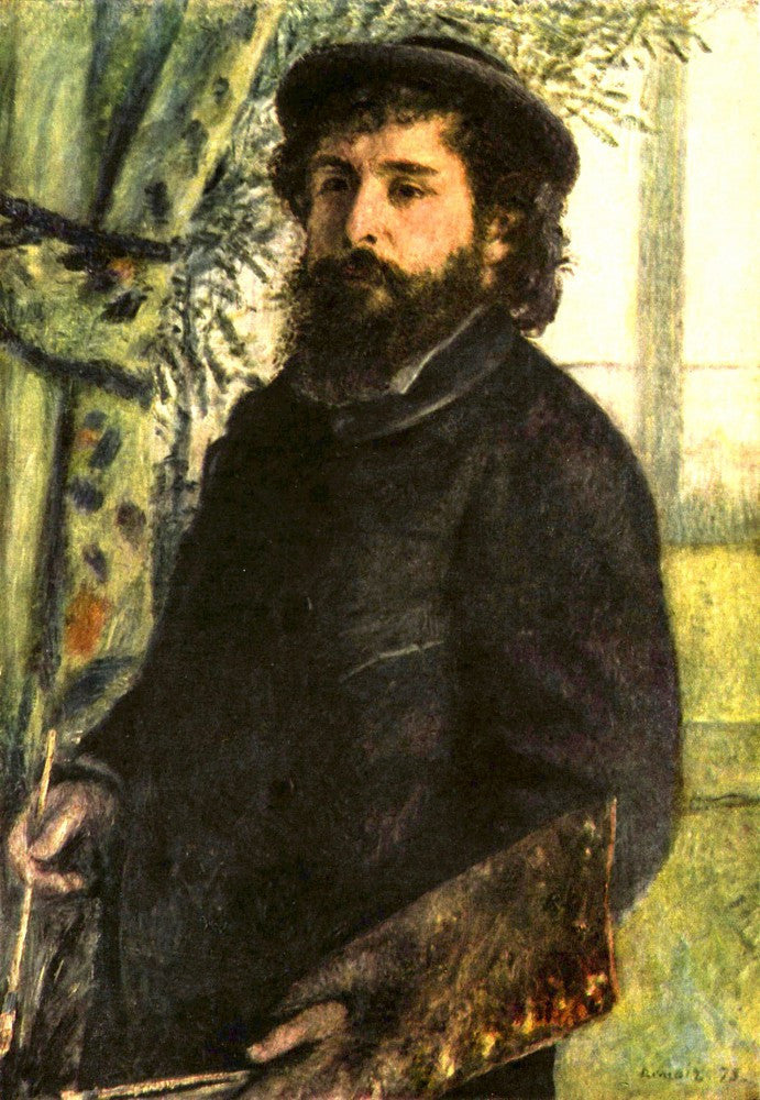 The Museum Outlet - Portrait of the painter Claude Monet