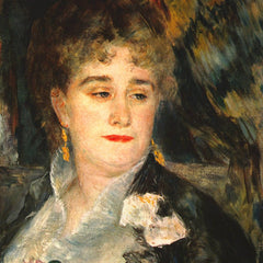 100% Hand Painted Oil on Canvas - Portraits of Mme Charpentier by Renoir