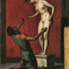 100% Hand Painted Oil on Canvas - Pygmalion by Franz von Stuck