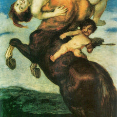 The Museum Outlet - Rape of a nymph by Franz von Stuck