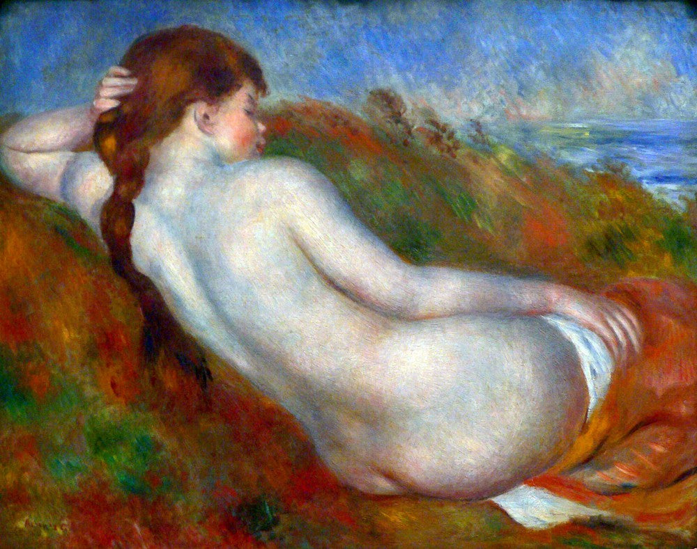 The Museum Outlet - Reclining nude by Renoir