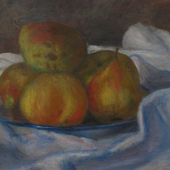 100% Hand Painted Oil on Canvas - Renoir - Apples and pears