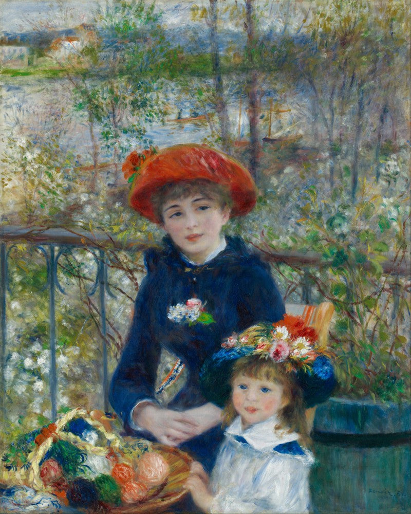 The Museum Outlet - Renoir - Two sisters on the terrace 2
