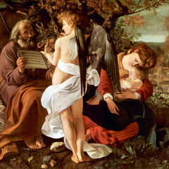 The Museum Outlet - Resting on the Flight into Egypt by Caravaggio