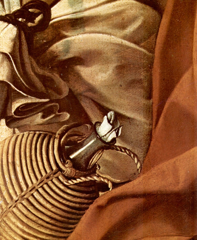The Museum Outlet - Resting on the Flight into Egypt detail 3 by Caravaggio