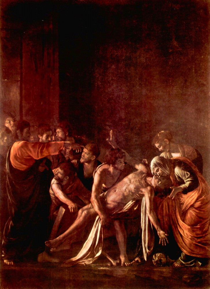 The Museum Outlet - Resurrection of Lazarus by Caravaggio