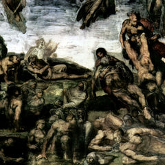 The Museum Outlet - Resurrection of the dead from the graves by Michelangelo