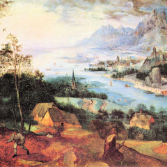 The Museum Outlet - River Landscape with a sower by Pieter Bruegel