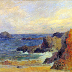 The Museum Outlet - Rocky Coast by Gauguin