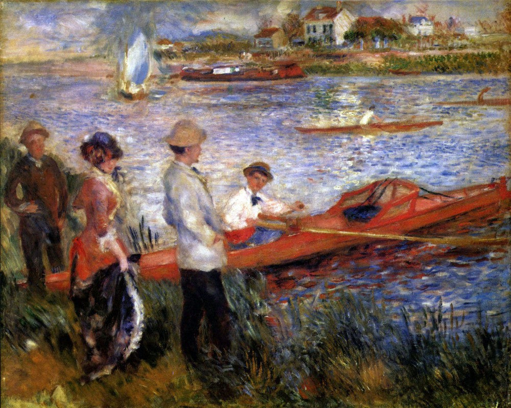The Museum Outlet - Rowers from Chatou by Renoir