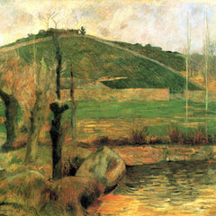 The Museum Outlet - Sainte Marguerite near Pont-Avon by Gauguin