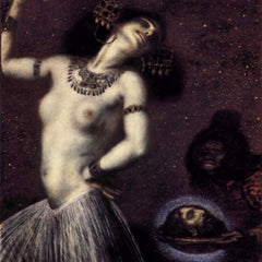 100% Hand Painted Oil on Canvas - Salome by Franz von Stuck