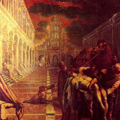 The Museum Outlet - Salvage of the corpse of St. Mark by Tintoretto