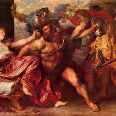 The Museum Outlet - Samson and Delilah by Van Dyck