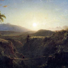 The Museum Outlet - Scene in the Andes by Frederick Edwin Church