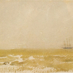 100% Hand Painted Oil on Canvas - Seascape with Schooner by Whistler