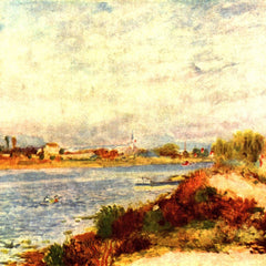 100% Hand Painted Oil on Canvas - Seine in Argenteuil by Renoir