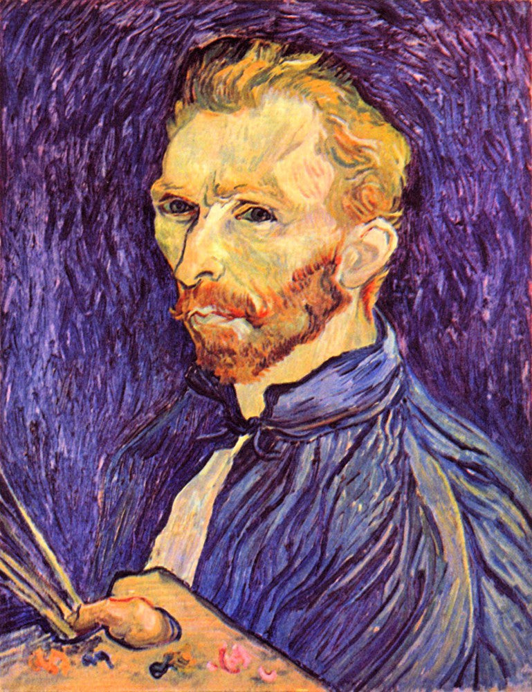 The Museum Outlet - Self-Portait with pallette by Van Gogh