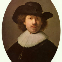 The Museum Outlet - Self-Portrait Oval, by Rembrandt