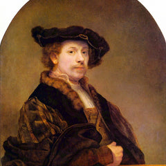 The Museum Outlet - Self-Portrait [5] by Rembrandt