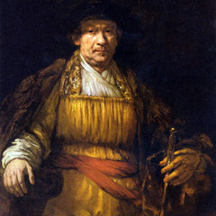The Museum Outlet - Self-Portrait [7] by Rembrandt