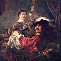 The Museum Outlet - Self-Portrait with Saskia by Rembrandt