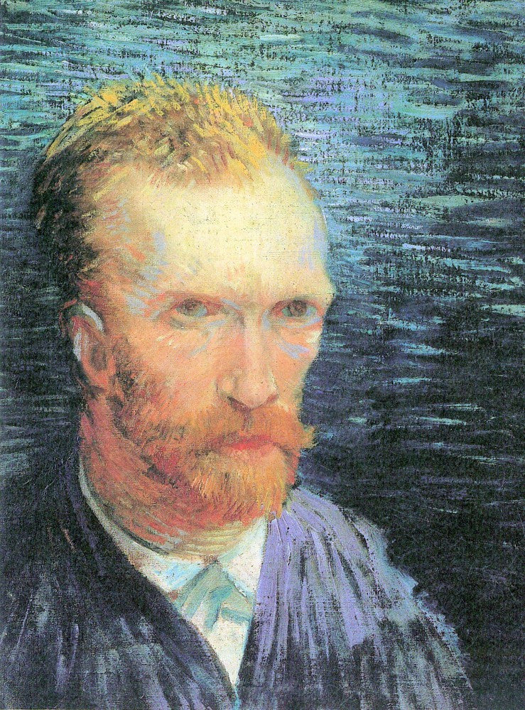 The Museum Outlet - Self-portrait from the left by Van Gogh