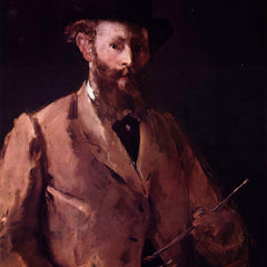 The Museum Outlet - Self Portrait with Pallette by Manet